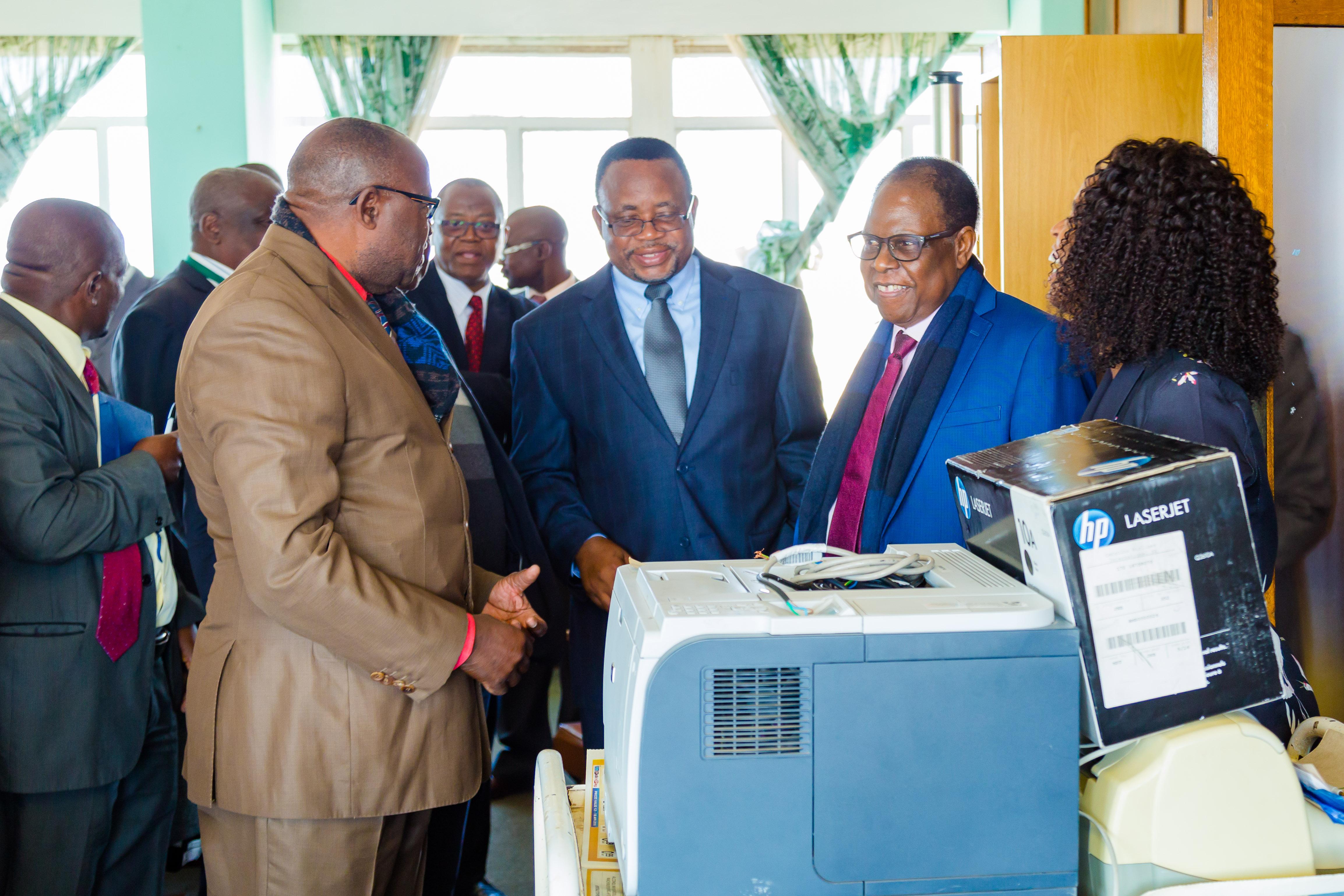 ADEA donation to MoPSE Zimbabwe